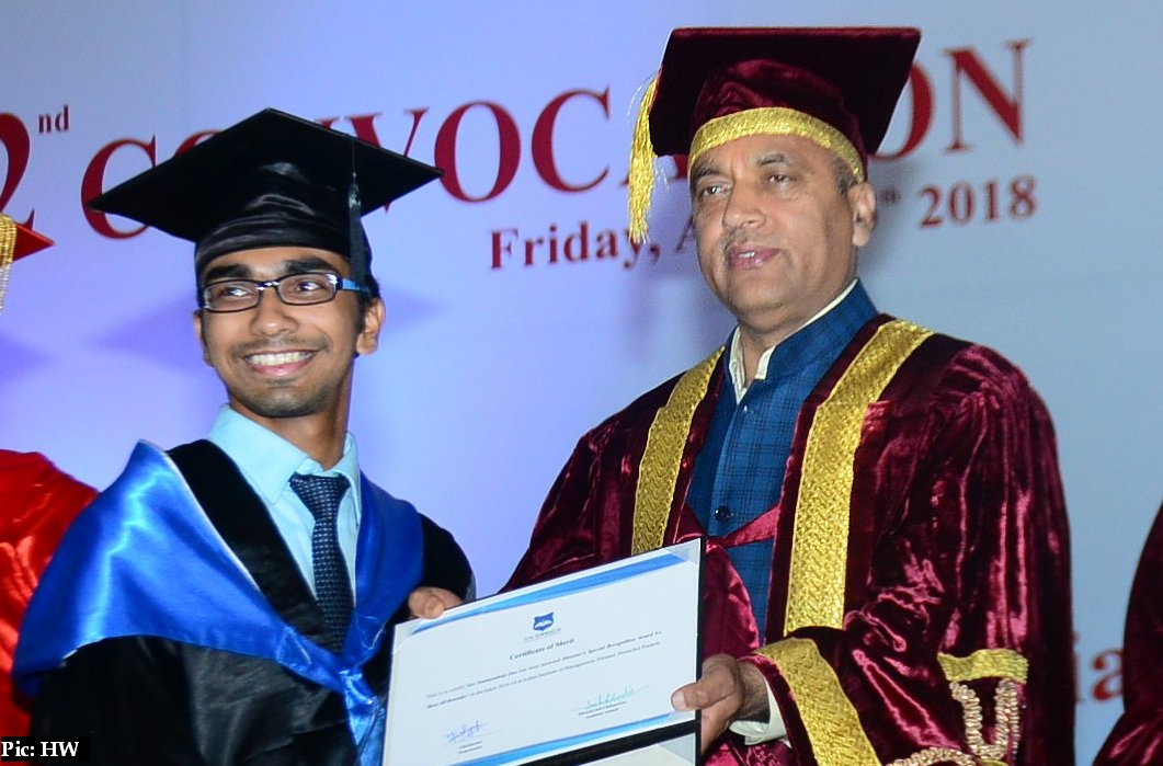 IIM Sirmaur Convocation ceremony 2