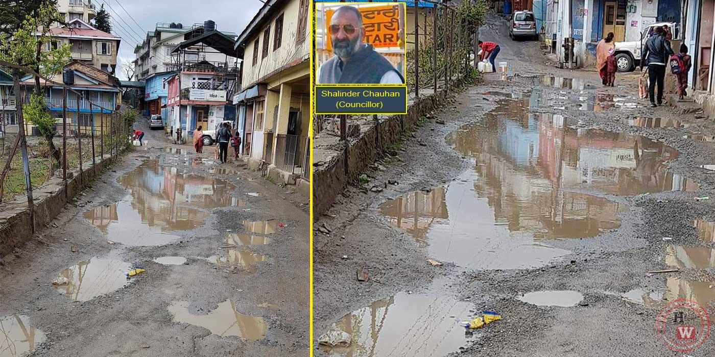 Road-in-Shimla-MC-Ward-21