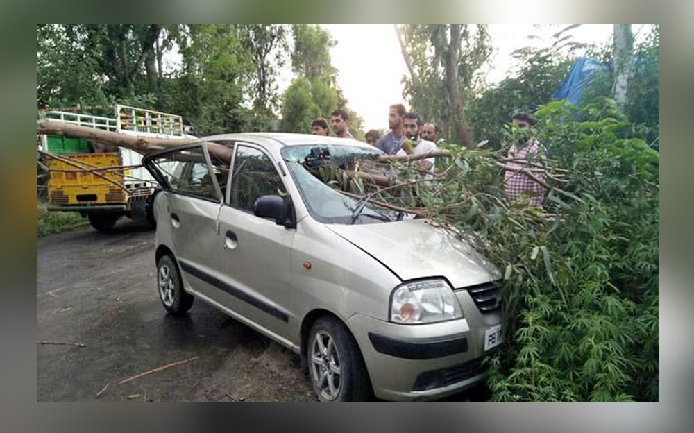 Weird accident in Himachal PRadesh