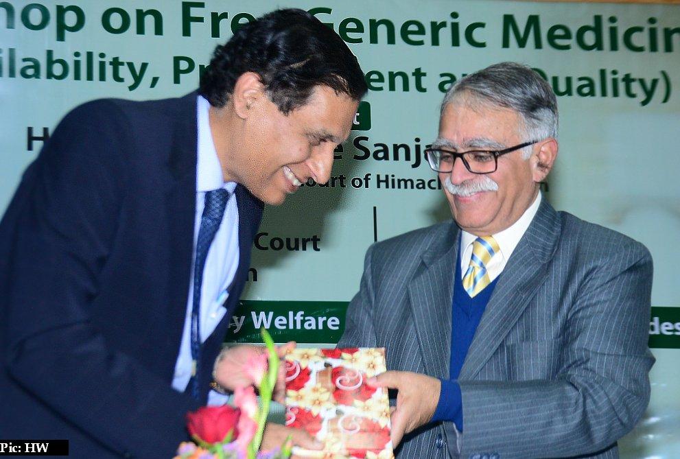 Workshop on generic medicins in Himachal Pradesh