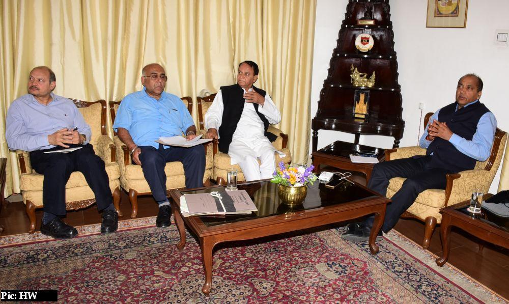 Jairam Thakur hold meeting to review water supply in shimla