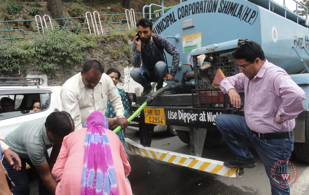 New Water Supply Plan for Shimla City