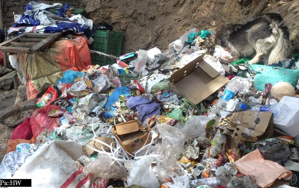 Plastic Hatao Paryavaran bachao campaign