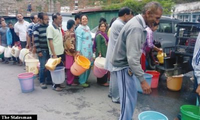 Shimla city's water crisis