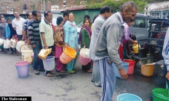 Shimla city's water crisis