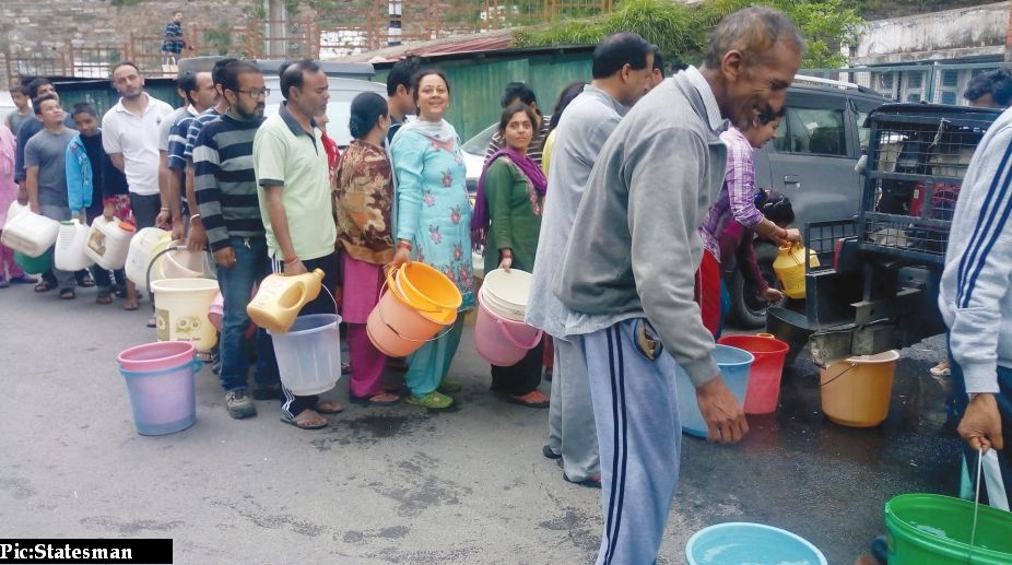 Water supply in shimla city