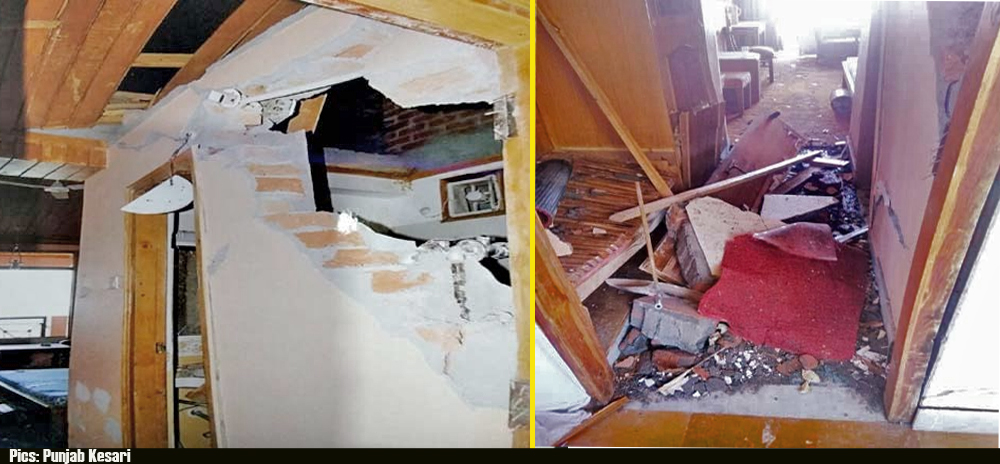 explosion in HPTDC hotel in Chamba