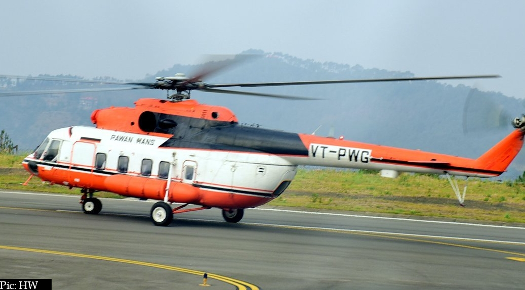 Chandigarh to Shimla helicopter service