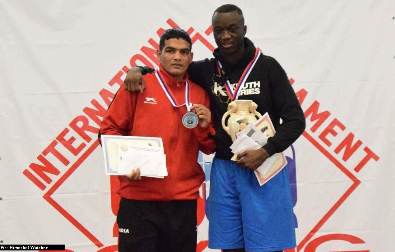 Himachali boxer Virender Kumar wins medal in russia 2