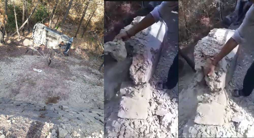 Kasauli road accident