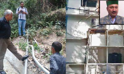 MLA Balbir Verma water theft case