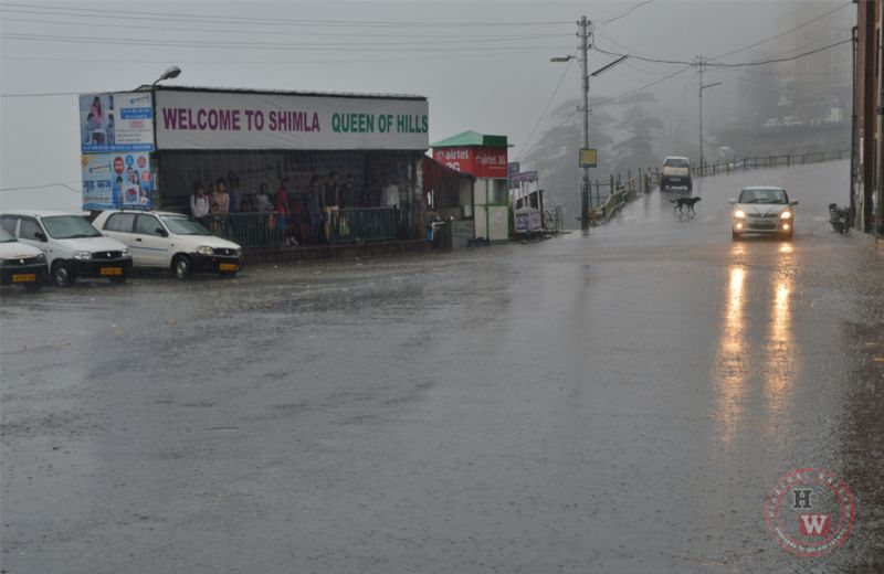 Monsoon in Himachal PRadesh in 2018
