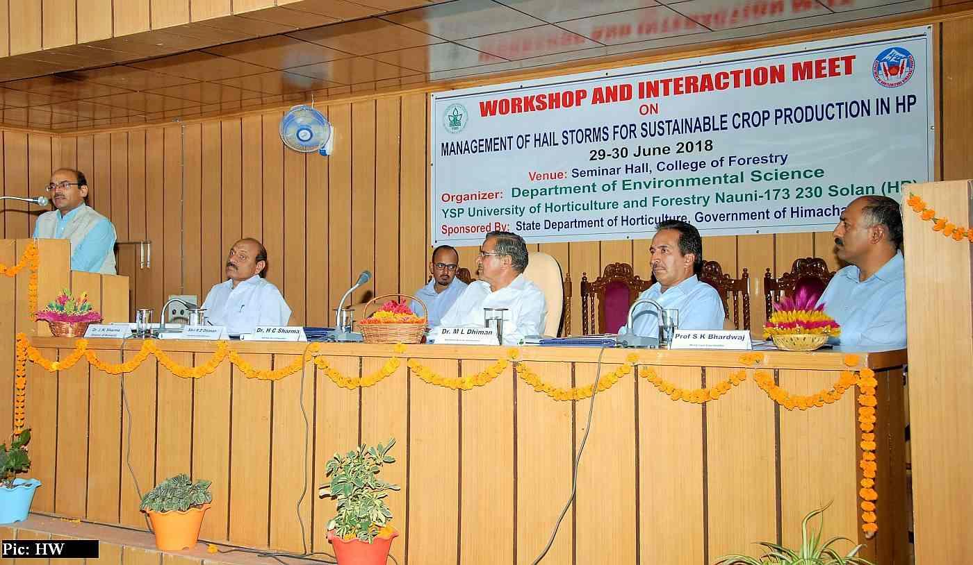 UHF Nauni workshop on anti-hail guns