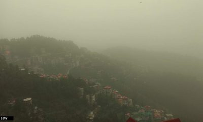 haze in Himachal Pradesh