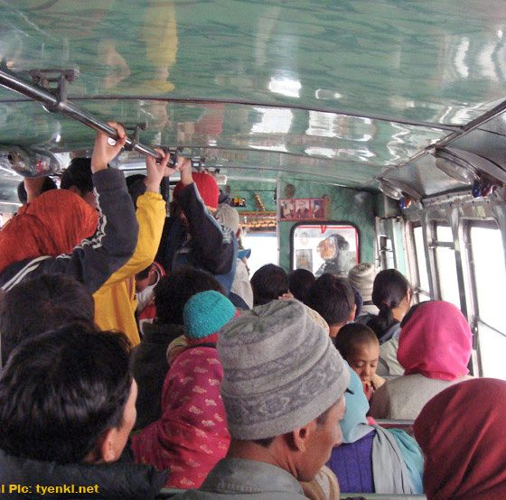 Ladies seats in Himachal's buses