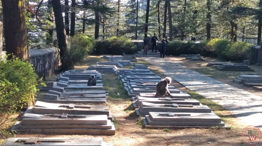 Navbahar cemetery in shimla