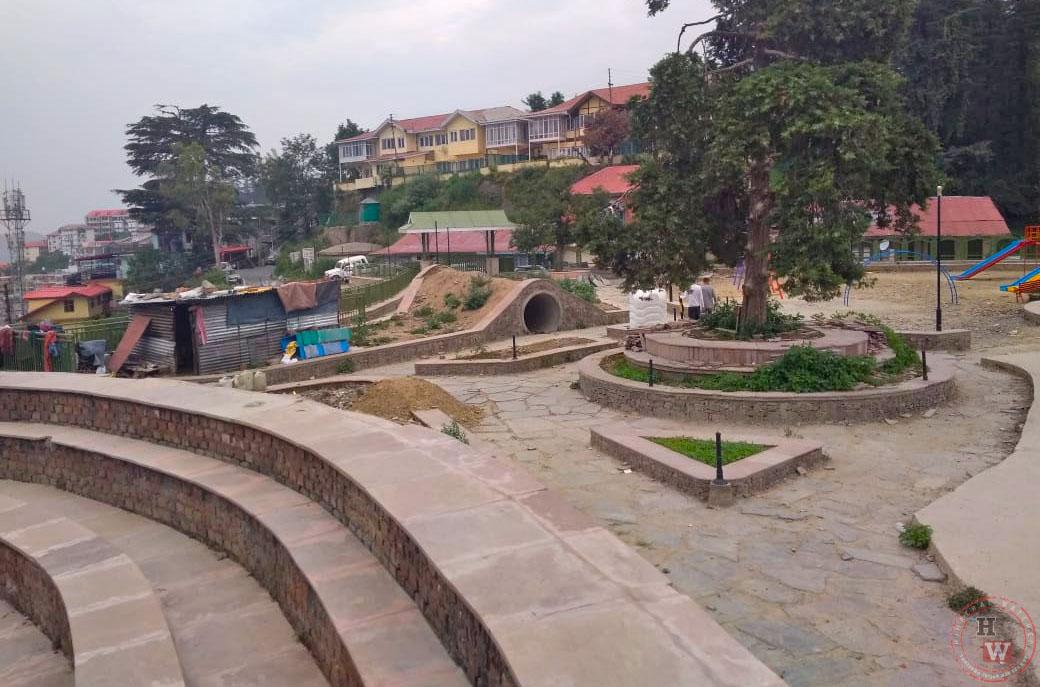 Rani Jhansi park in Shimla