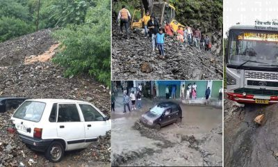 Heavy Monsoon rain in Himachal wreak havoc