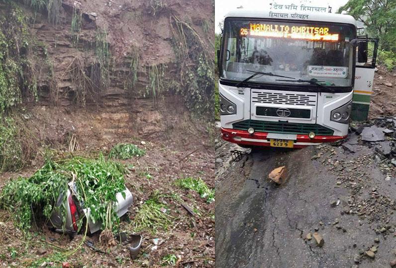 Heavy rains in Himachal