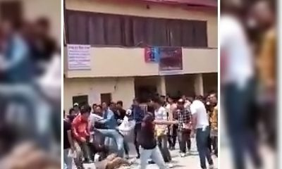 Sanjauli college fight between abvp and sfi