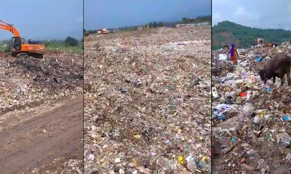 Baddi MC Dumping Site