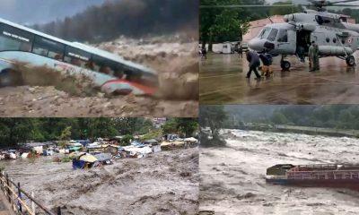 Flash floods in Kullu
