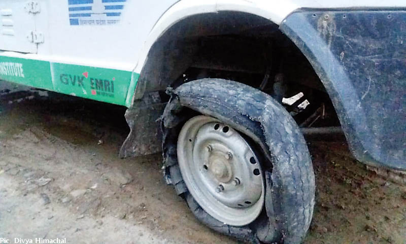 GVK ambulances in bad shape