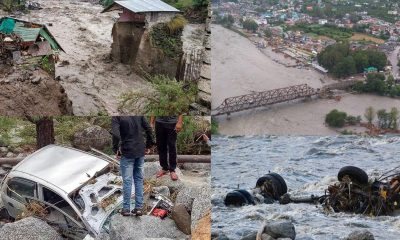 Himachal Rains and Rescue operation in Kullu and Lahaul Spiti