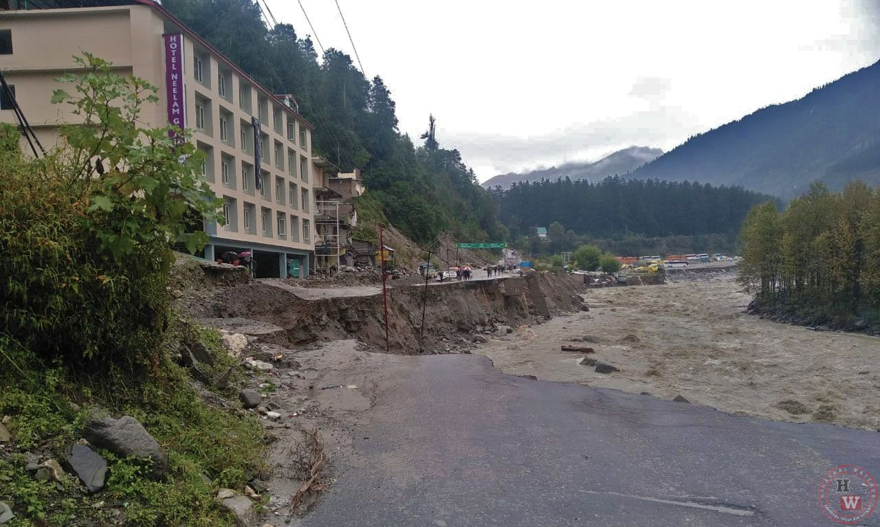 Monsoon losses in Himachal pradesh in 2018
