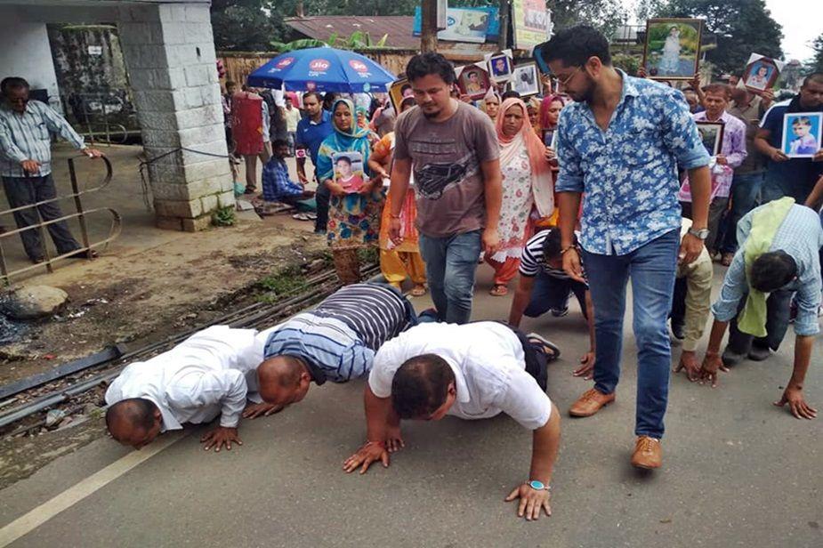 Nurpur school bus accident parents rub noses