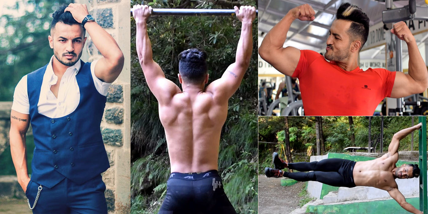 Himachal's Fitness enthusiast sachin sharma of Shimla