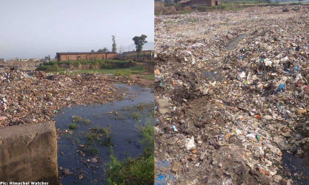 Baddi solid waste management plant