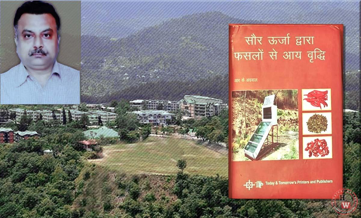 Nauni Varsity scientist's book on solar drying