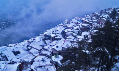 Snowfall prediction for Shimla