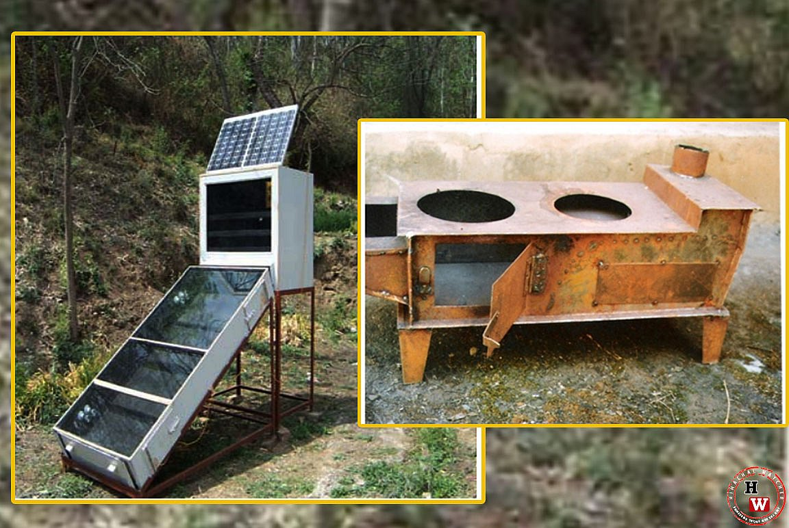 Solar dryer by Dr RK Aggarwal