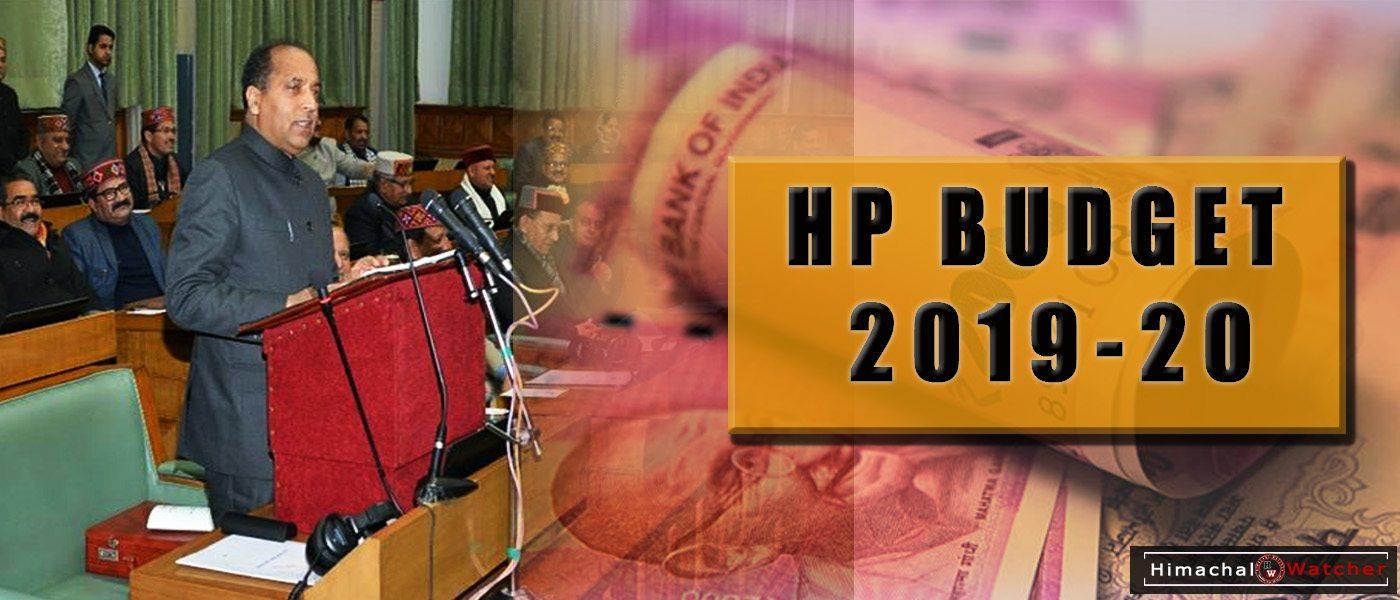 HP Budget 2019-20 Highlights