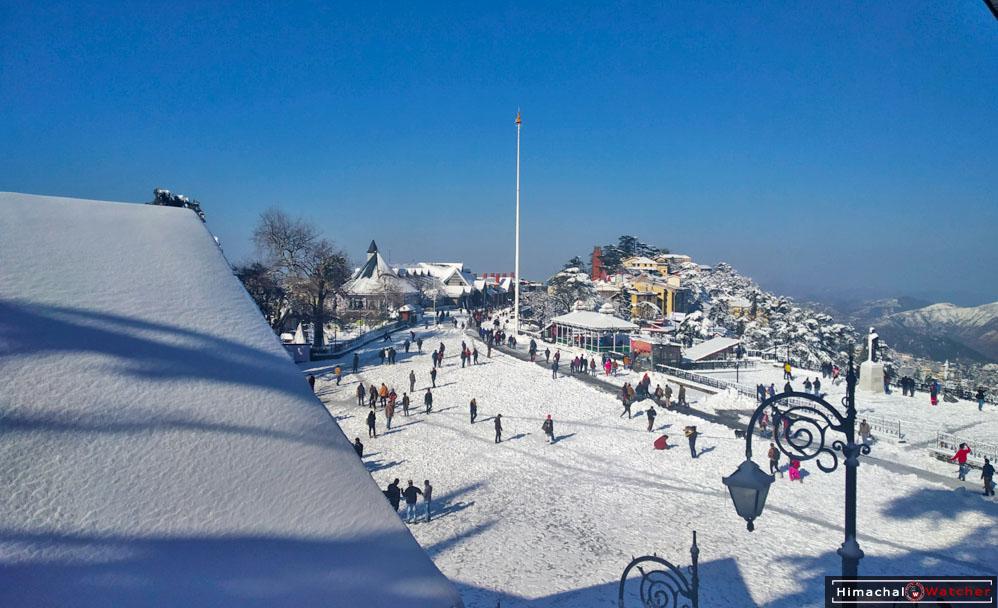 Snowfall prediction for Himachal PRadesh Feb 2019