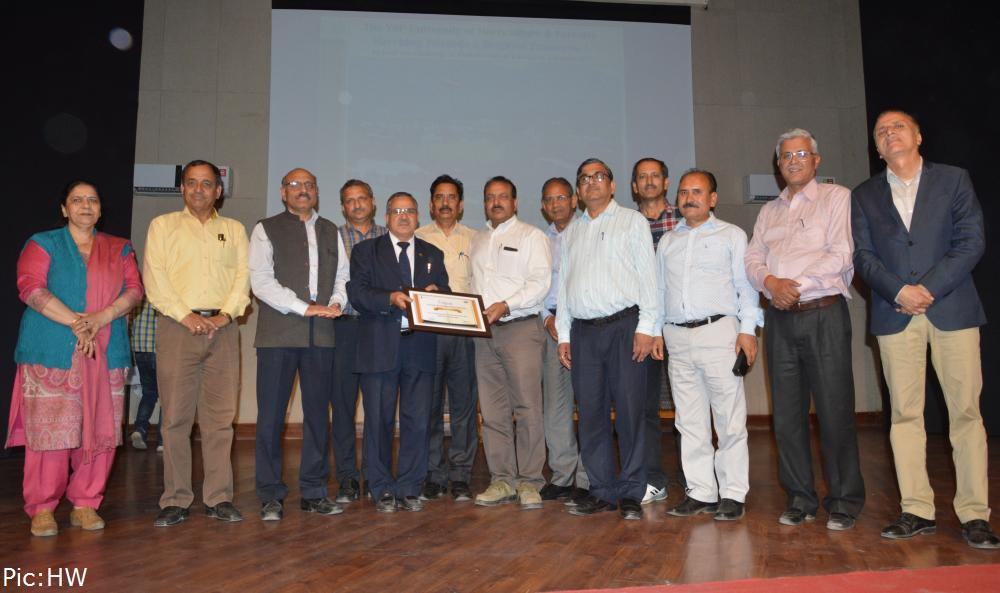 UHF Nauni Among Top 100 universities of india