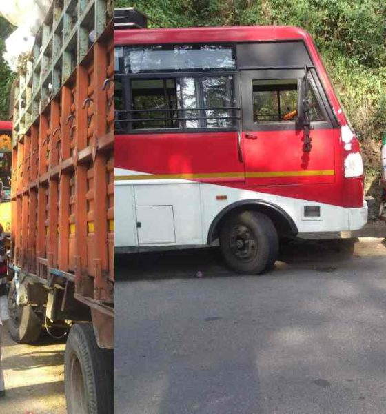 Private Bus Accident in Shimla due to rash driving