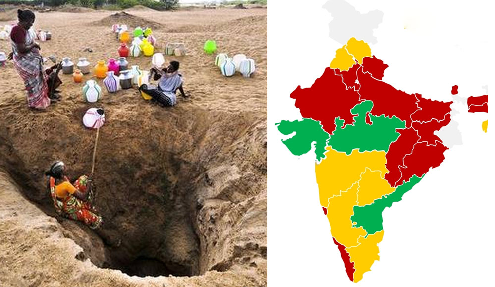 Water crisis in India by 20310