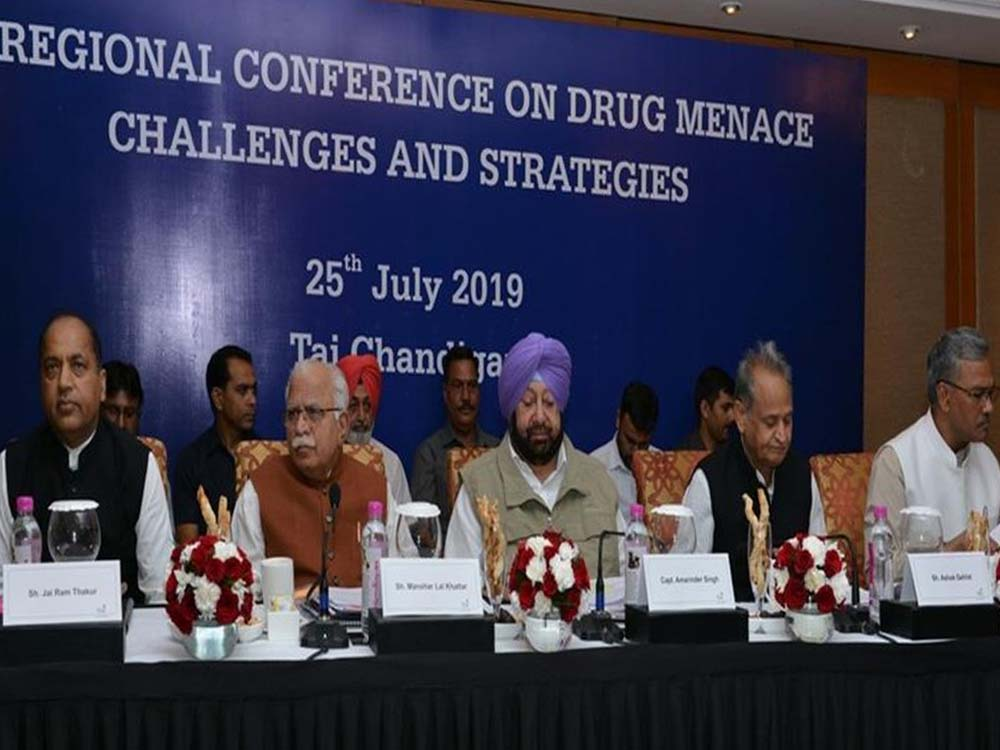 Drug Menace Conference in Chandigarh