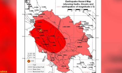 Earthquake Possibility in Himachal Pradesh High