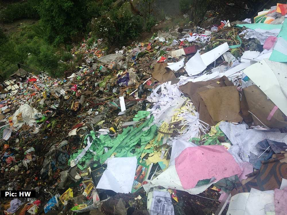 Gumma dumping yard in Shimla district 3
