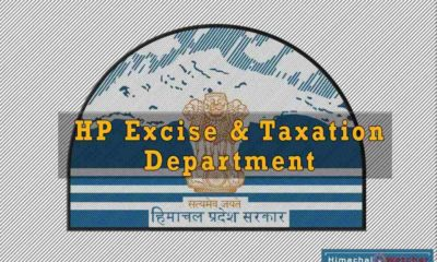 HP Excise and Taxation Department tax collection for 2018-29