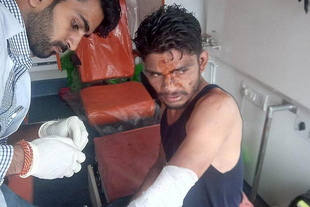 Injured in solan building collapse