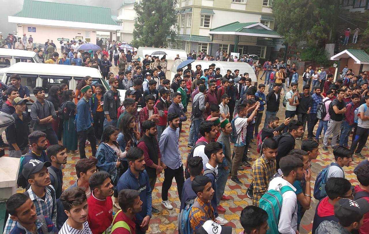 Kotshera College SFI Protest 2