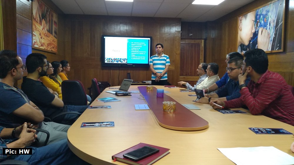 STPI Shimla Meeting