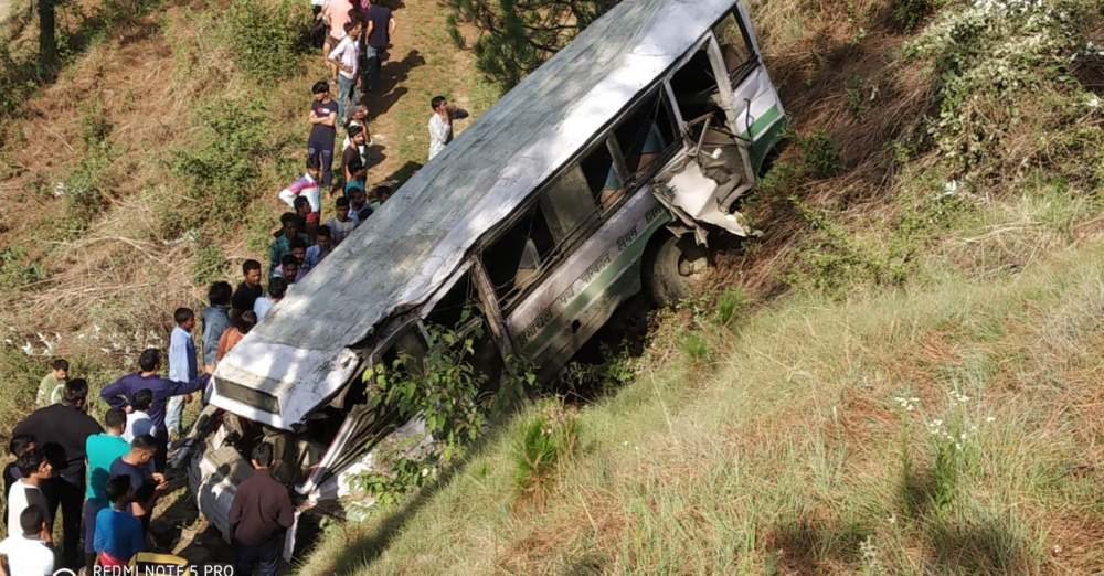 School Bus Accident in Shimla