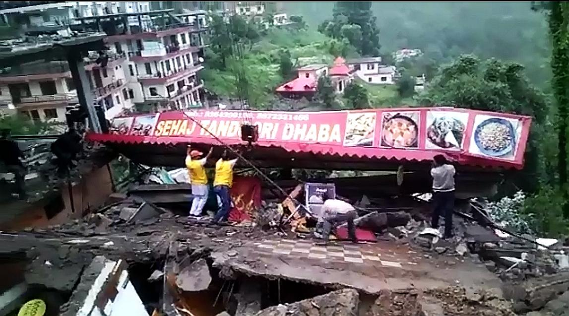 Solan Building Collapse