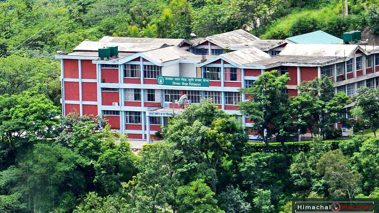 UHF Nauni Ranks 12 among India's agro universities